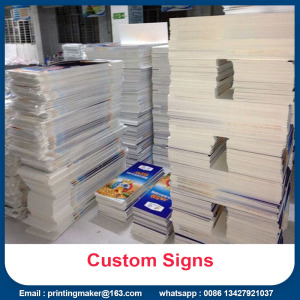 Printed Advertising PVC Sign Boards Untuk Acara