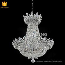 Acabado cromado claro cristal K9 de alta calidad lustres de cristal Fabricado en China 71159