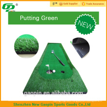 New design high quality cheap golf putter mat for putting green