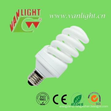 High Efficiency T3 Full Spiral CFL 15W Energey Saver
