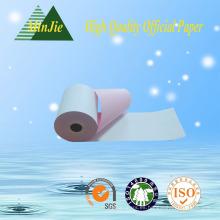 Precio de la fábrica de Dongguan bajo MOQ Carbonless NCR papel