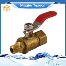 Válvula de esfera de bronze China gás personalizado por atacado