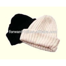conjunto de sombrero y bufanda de invierno de mujer de punto de moda