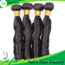 Aofa New Product 100% pelo virgen sin procesar Remy Hair Extension