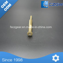Brass High Precision Transmission Small Spline for Various Machinery