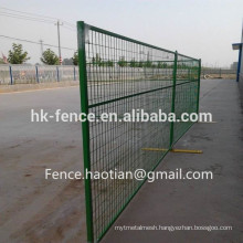 6ft x 10ft canada temporary fence panel green color movable wire fencing