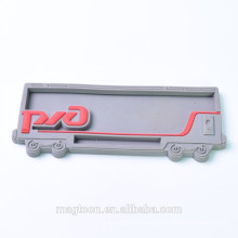 wholesale promotional car shape 3d soft pvc fridge magnet