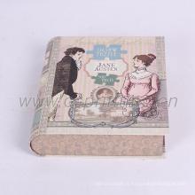 Carton de luxe livre boîte avec votre propre impression