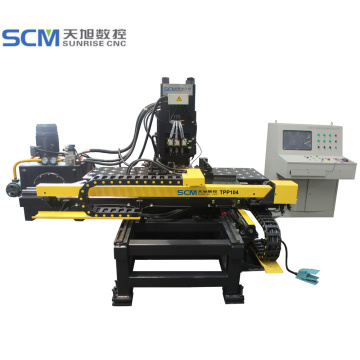 Enhanced+Hydraulic+Press+Plate+Punching+Marking+CNC+Machine