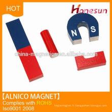 Industrial Application d'un aimant AlNiCo Magnet Composite u forme éducation aimant et