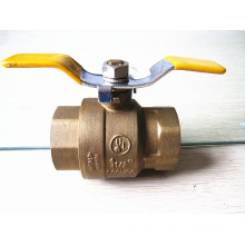 American style T handle brass ball valves with low lead(female thread)