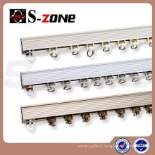 Activités Électrophorèse Discount Rails à rideaux droits en aluminium