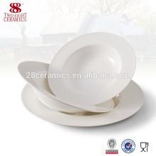 Porcelana de Uzbekistán Vintage China ctp platos de sopa horneados