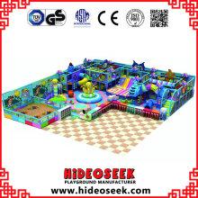 Equipamento interno do jogo do divertimento do tema do oceano para crianças