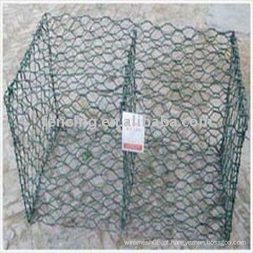 gaiola de gabião revestida de pvc