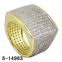 Anillo de plata esterlina de la joyería 925 de alta calidad con el diamante