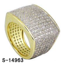High Quality Jewelry 925 Sterling Silver Ring with Diamond