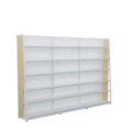 Hot Selling Supermarkt Stalen Houten Rack