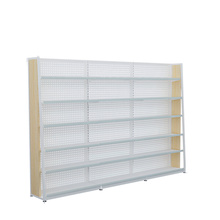 Hot Selling Supermarket Steel Wood Rack