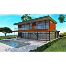 SIPs and L.G.S. Hybrid Prefab House
