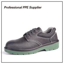 Zapatos de seguridad de metal baratos de inyección de PU