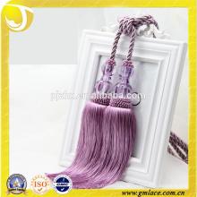Vorhang Zubehör Großhandel Quasten Lila Rayon Vorhang Quaste