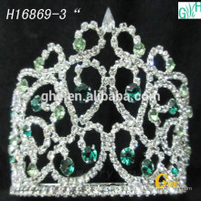 La corona del mundo miss la última moda hermosa
