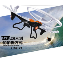 H10 2.4G 4CH 6 Axis Gyro Drone con cámara de 2.0MP 3D Flip RC Quadcopter RTF