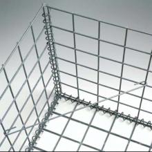 4mm wire 50x50mm hole 2x1x0.5m galvanized welded gabion wire mesh basket fence retaining wall gabion spiral price for sale