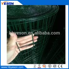 1.8m rollo gran agujero grueso pvc recubrimiento hardware tela cuadrado soldado malla de alambre