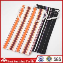 Material natural gafas de sol bolsa de microfibra