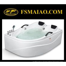 Роскошные двух мест массажа водоворота акриловая Гидромассажная ванна (мг-206)
