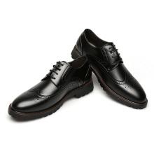 Zapatos de hombre de cuero oxford clásico genuino