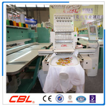 Single head cap, t-shirt and flat embroidery machine