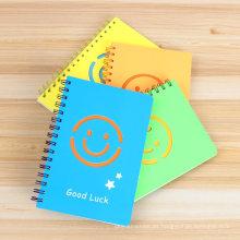 Organizador / planificador / libreta lindos de los cuadernos espirales