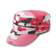 Camoflauge Military Cap, Ladies Army Cap