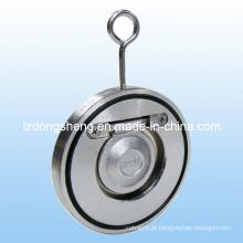 Válvula de retenção de balanço de chapa única tipo Wafer Dn25-Dn400