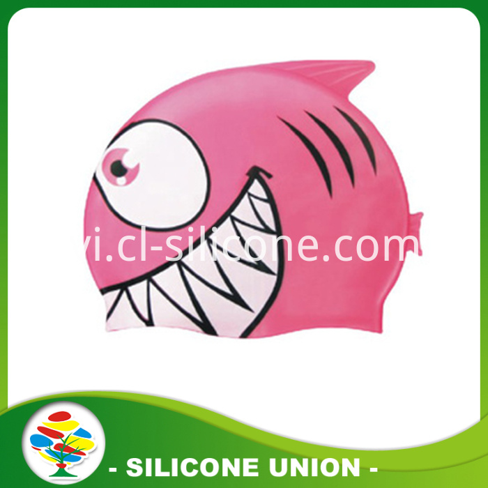 shark shape silicone cap