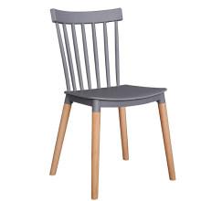 En gros pas cher Chine meubles moulés par injection en plastique démontable jardin extérieur salle à manger chaise