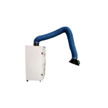 Unidade móvel eletrônica do extrator das emanações do filtro de fumo da soldadura