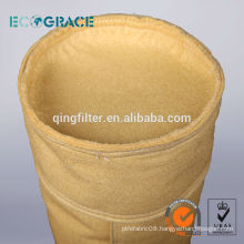 Industrial filtration p84 dust filter bags felt