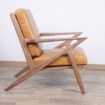 Weicher Leder Selig Lounge Sessel