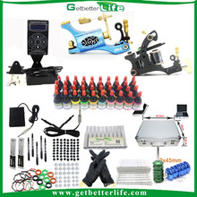 Getbetterlife Completed Customized 2Tattoo Machine Tattoo Kits for Cheap