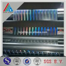 BOPP metallized laser film, PET transparent holographic film