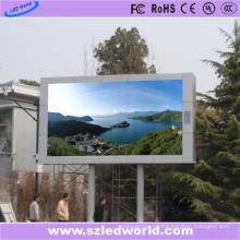 Panel de visualización LED de alto brillo fijo al aire libre P10 SMD3535 para publicidad