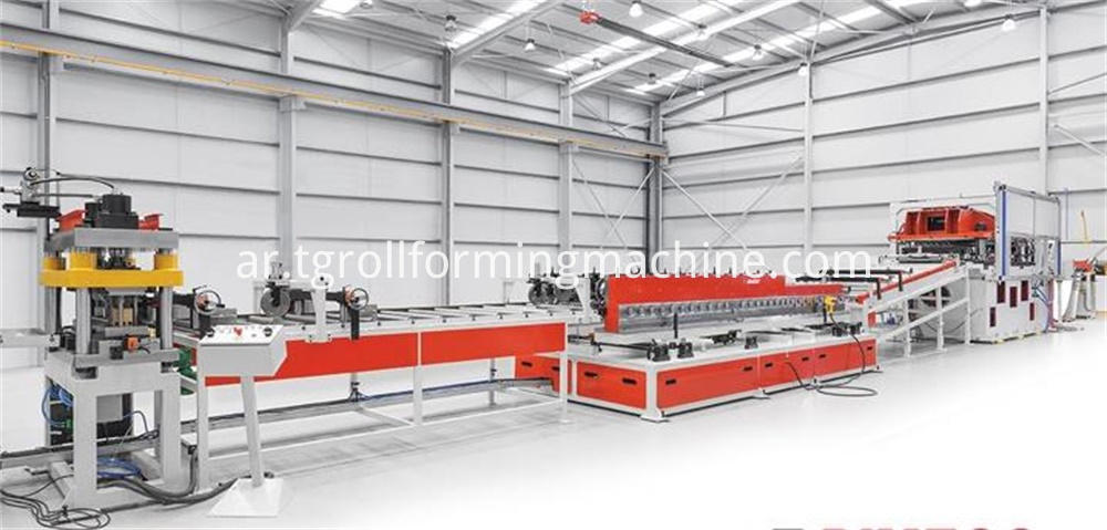 Aluminum foil core Roll Forming Machine