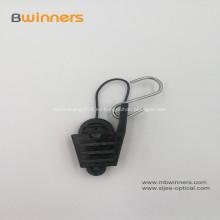 FTTH Abrazadera de cable de cable de poste de fibra óptica ajustable