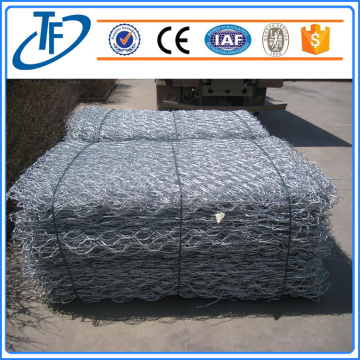 PVC coated galfan wire gabion/Gabion Retaining Wall