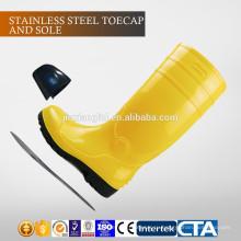 JX-AL965 CE Китай Экологичные водонепроницаемые пластиковые ПВХ дешевые сапоги дождя и защитную обувь