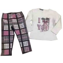 Baby Fleece Sutis bei Kindern Pyjamas Sq-17107